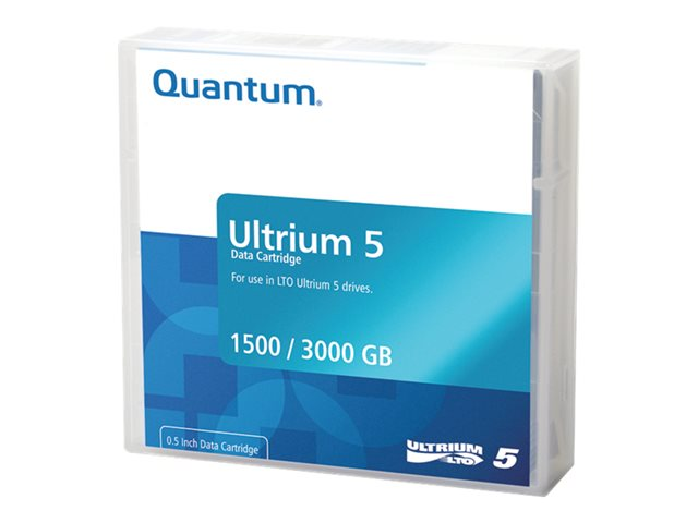 Quantum 1.5/3.0Tb Lto Ultrium 5 Data Cartridge 1 P