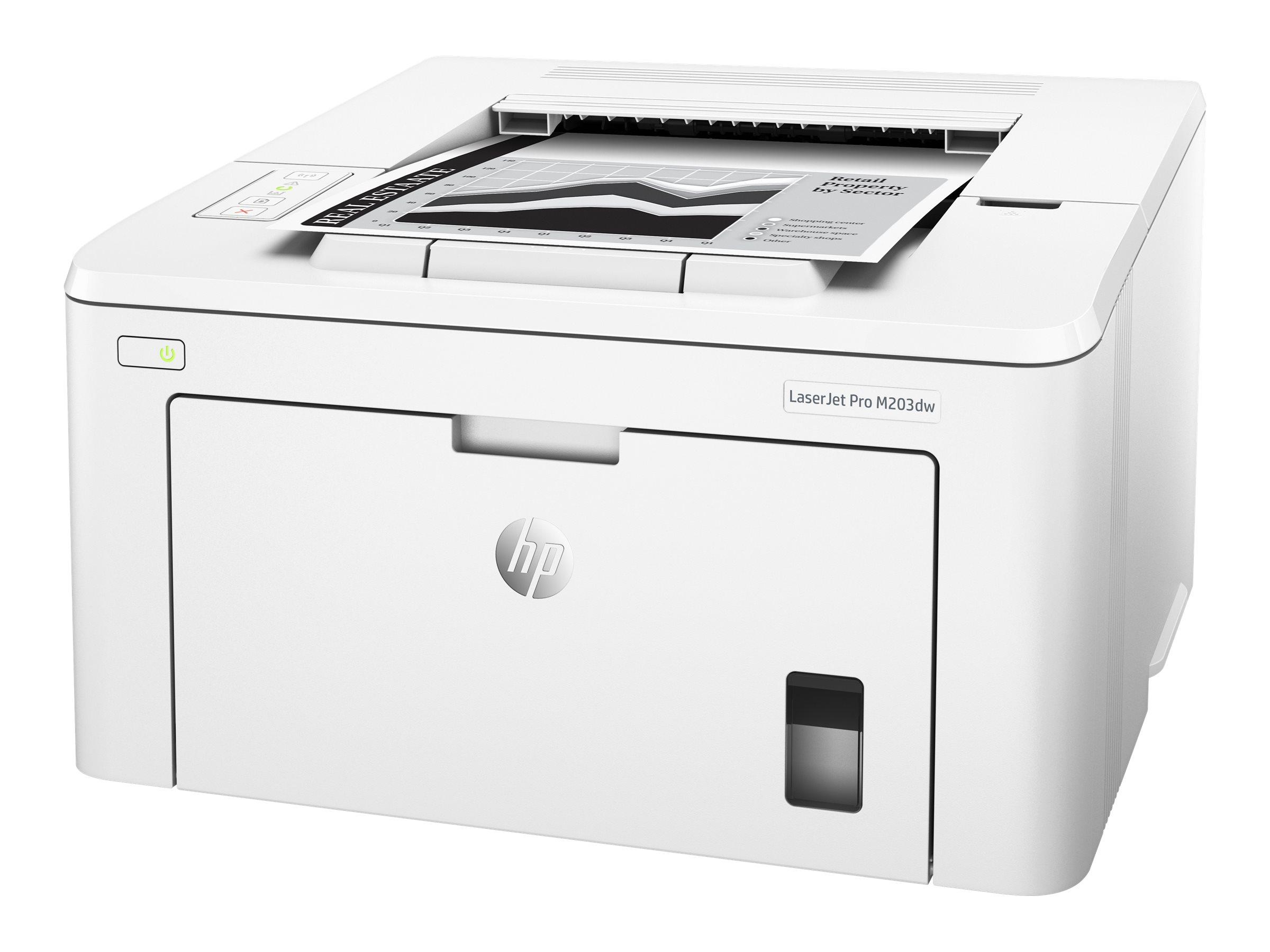 HP LASERJET PRO M203DW IMPRESORA MONOCROMO A DOS C