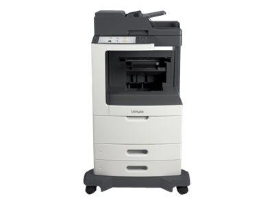 Image of Lexmark MX812dfe - multifunction printer ( B/W )