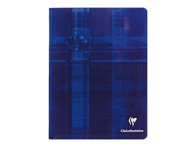 Clairefontaine - A5+ - Cahier - 17 x 22 - 48 pages - Grands carreaux
