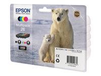 InkCart/26Ser Polar Bear Multi 4 clrs RS