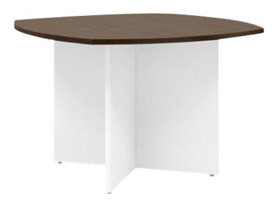 Gautier office YES - Table de réunion - rectangulaire avec côtés arrondis - disponible en différents coloris