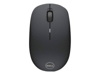 Dell WM126 - Mouse - optical - 3 buttons - wireless - RF - USB wireless receiver - black - for Chromebook 11 31XX, 13 3380; Inspiron 14 3467; Latitude 3480, 3580; Precision 3520