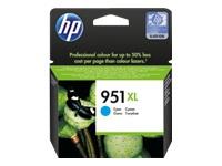 HP 951XL - à rendement élevé - cyan - originale - Officejet - cartouche d'encre