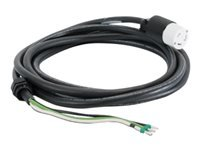 APC InfraStruXure Whips - Power cable - bare wire to NEMA L6-30 (F) - 35 ft - black - Canada, United States - for P/N: SRT10KXLTW, SRT3000XLTW, SRT5KXLTUS, SRT6KXLTUS, SRT6KXLTW, SRT8KXLJ, SRT8KXLTUS