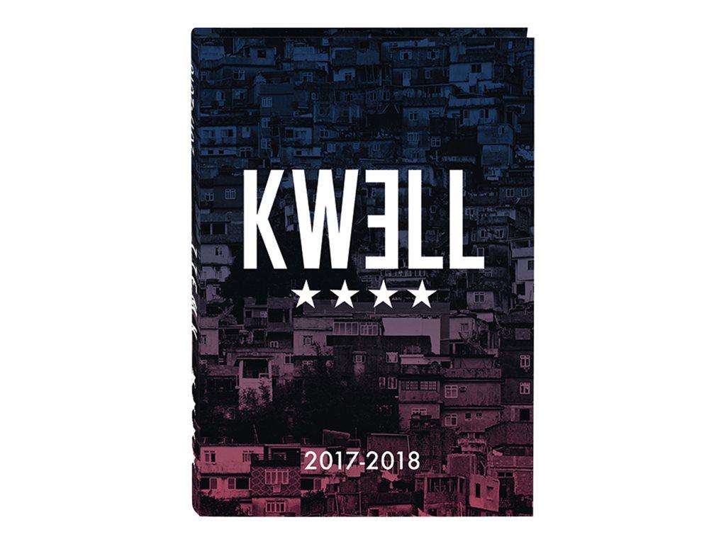 Oberthur KWELL - Agenda scolaire - 1 jour par page - disponible dans différentes couleurs
