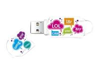 Integral Europe Cl�s USB INFD8GBXPRTXT