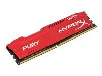 KINGSTON, 16GB 2400MHz DDR4 CL15 DIMM HyperX Red