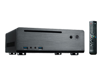MS-Tech MC-80BL Desktopmodel slimline mini ITX