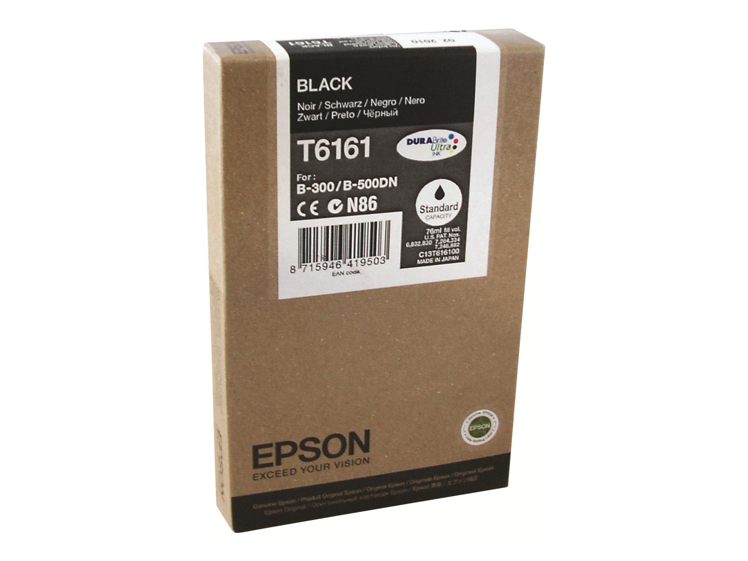 Epson T6161 - noir - original - cartouche d'encre