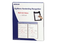 DigiMemo Handwriting Recognition MyScript Notes for ACECAD