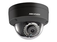 Hikvision DS-2CD2122FWD-ISB - Network surveillance camera - dome - outdoor - vandal / weatherproof - color (Day&Night) - 2 MP - 1920 x 1080 - 1080p - M12 mount - fixed focal - audio - LAN 10/100 - MJPEG, H.264 - DC 12 V / PoE