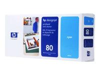 HP Cabezal de Impresión Cian (nº80)C4821A