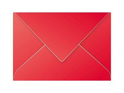 Pollen - 20 Enveloppes - 162 x 229 mm - - rouge intense