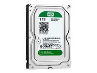 """WD Green WD10EZRX Harddisk 1 TB intern 3.5"""" SATA 6Gb/s buffer: 64 MB"""