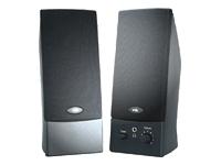 Cyber Acoustics CA-2014 Speakers - for PC - 4 Watt (total) - black - Speakers - for PC - 4 Watt (total) - black