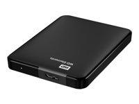 WD Elements Portable WDBUZG0010BBK Harddisk 1 TB ekstern (bærbar)
