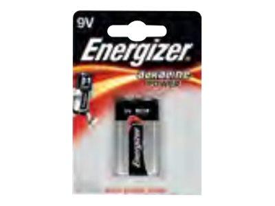 Energizer Alkaline Power batterie - 9V - Alcaline