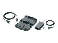 Motorola 4-Slot Battery Charger Kit - Power adapter + battery charger - for Motorola MC55, MC55N0