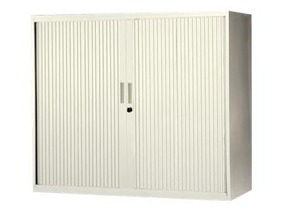MT - Armoire - Haute - 2 étagères - 2 portes - 120 x 105 x 43 cm - différents coloris
