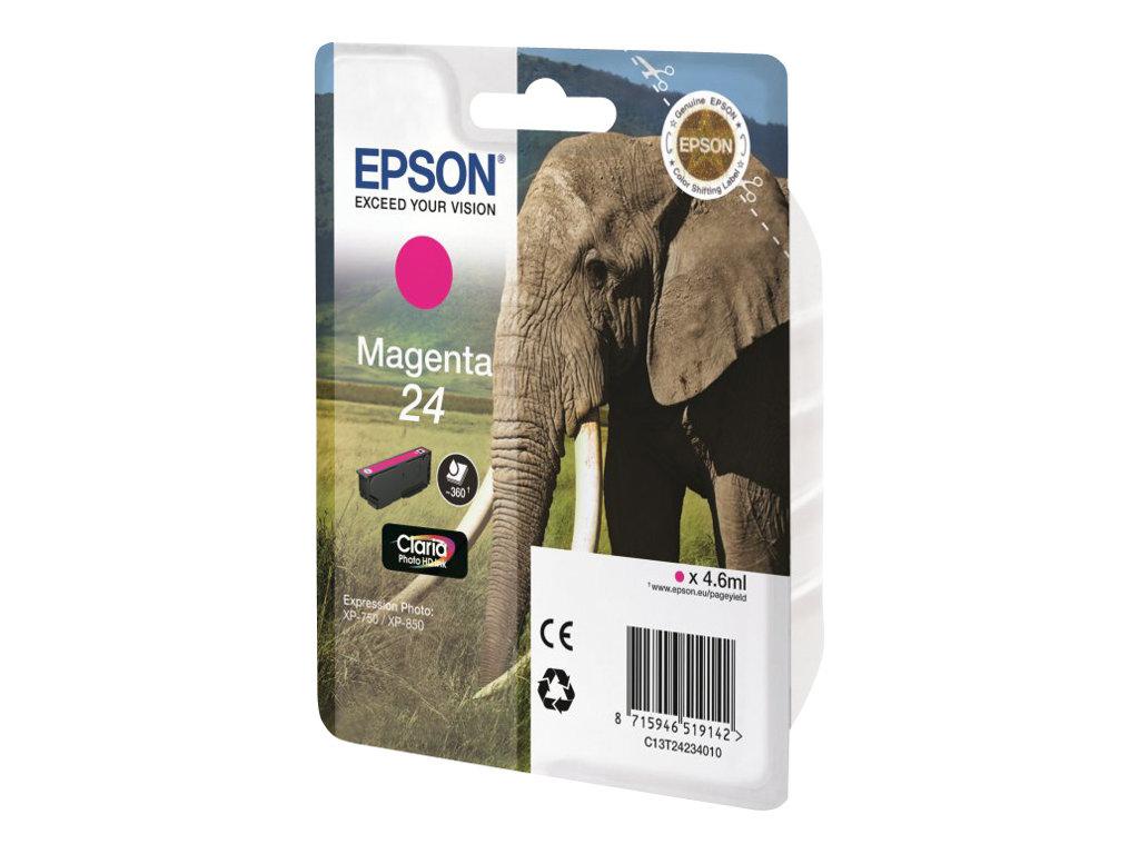 Epson 24 - magenta - originale - cartouche d'encre