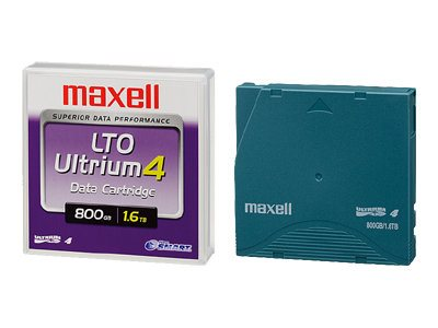 Maxell 1Pk Lto4 800Gb/1.6Tb Data Cart