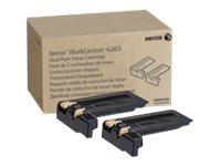 XEROX WC 4265, DMO Sold Dual Pack Toner Cartridge 50K (Two 25K c