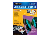 Fellowes Laminating Pouches Enhance 80 micron - pochettes plastifiées - brillant