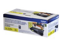Brother TN-339Y - Super High Yield - yellow - original - toner cartridge - for Brother HL-L9200CDW, HL-L9200CDWT, HL-L9300CDWT, MFC-L9550CDW, MFC-L9550CDWT