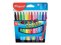 Maped Color'Peps Long Life - Feutres - Pointe moyenne