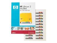 Ultrium 3 WORM Bar Code Label Pack