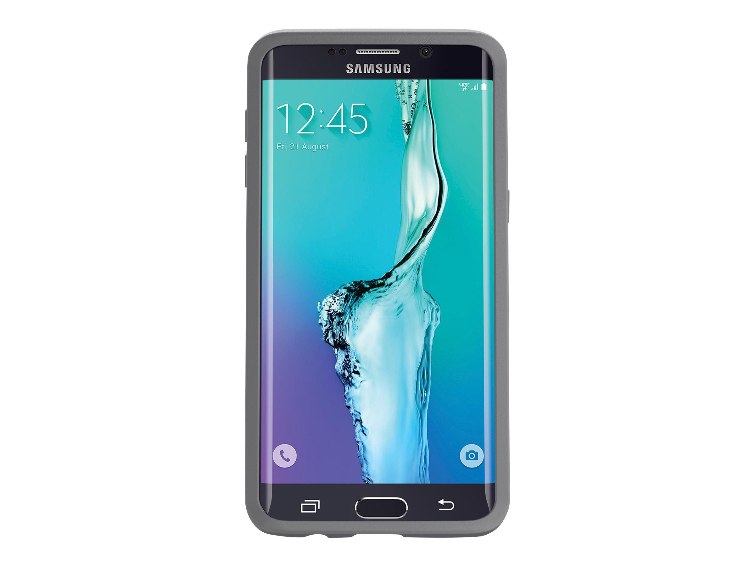 OtterBox Symmetry Series - Coque de protection- pour Samsung Galaxy S6 edge+ - Gris glacier