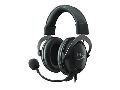 HyperX Cloud II - Headset - full size - wired - gunmetal