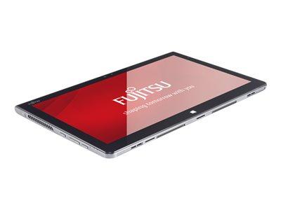 """Fujitsu Stylistic Q736 - Tablet - with keyboard dock - Core i5 6200U / 2.1 GHz - Win 10 Pro 64-bit - 4 GB RAM - 128 GB SSD - 13.3"""" IPS touchscreen 1920 x 1080 (Full HD) - HD Graphics 520 - Wi-Fi, Bluetooth - 4G"""