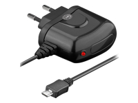 goobay Travel charger Strømforsyningsadapter 2 A (Micro-USB Type B)