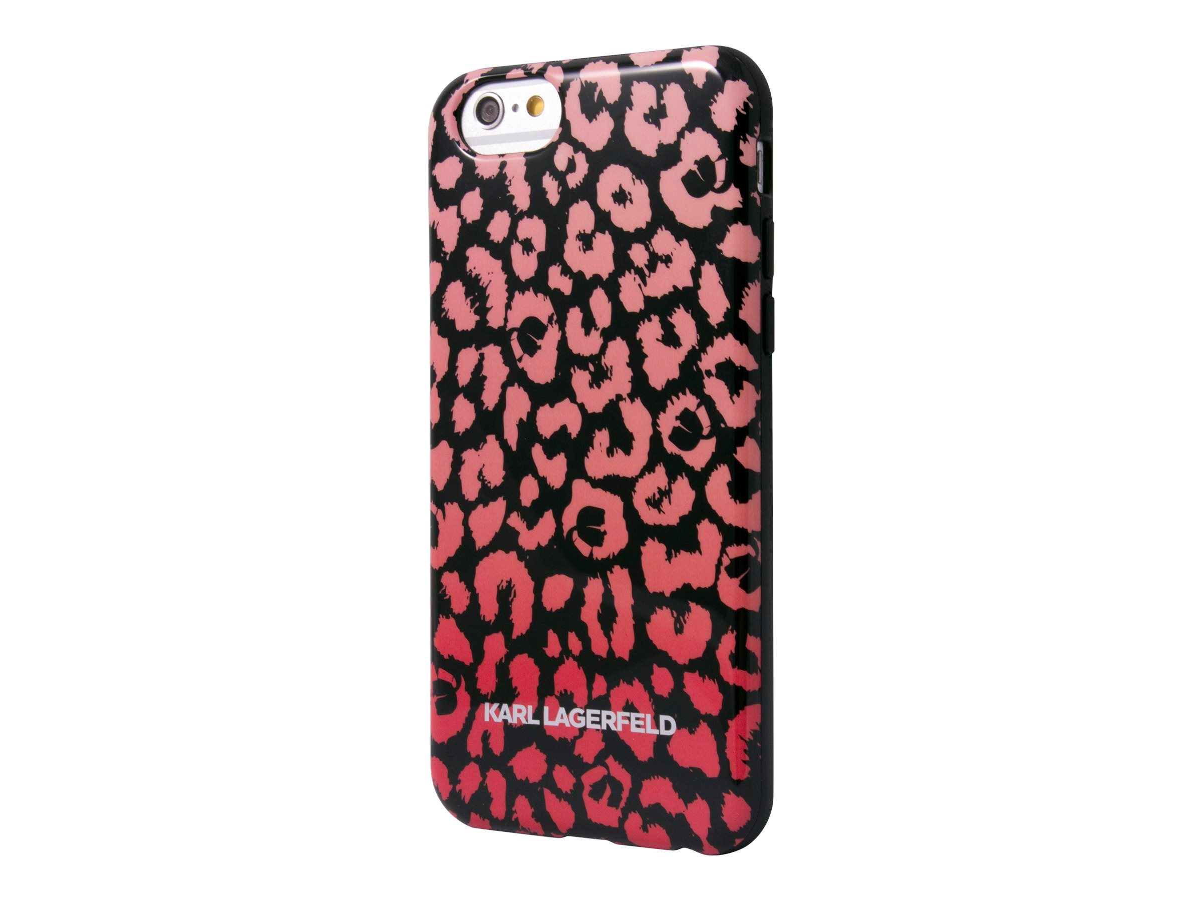 KARL LAGERFELD Coque - Coque de protection pour iPhone 5 - camouflage rose