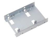 """SilverStone SST-SDP08-LITE Ramme 2.5"""" 3.5"""" to 2 x 2.5"""" grå"""