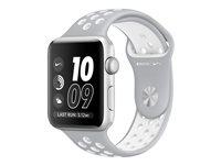 Watch Nike+42mm Silver Aluminium Case