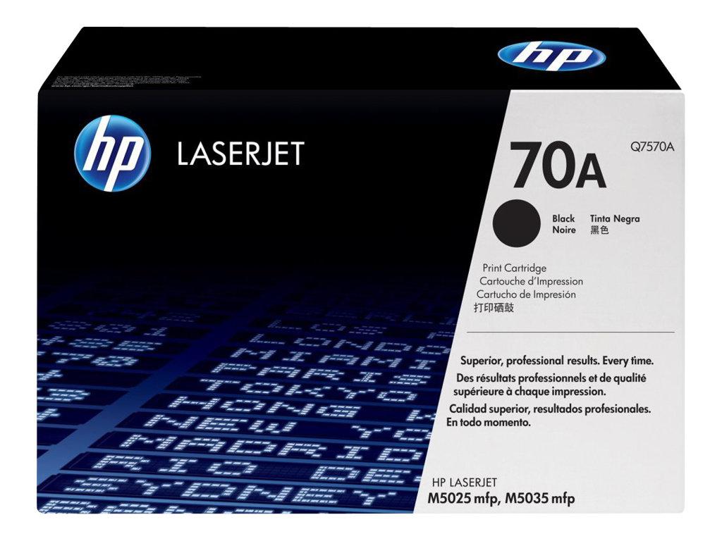 HP 70A - noir - originale - LaserJet - cartouche de toner (Q7570A)