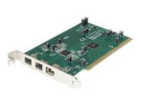 StarTech.com Carte adaptateur 3 ports PCI 1394b FireWire avec kit d'edition vidéo numerique