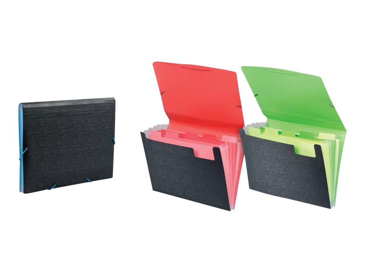 Viquel Office Design - Trieur - extensible - 5 positions - 330 x 235 mm - disponible dans différentes couleurs