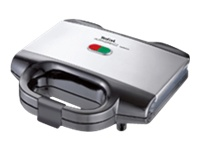 Tefal SM 1552 Ultracompact Sandwichtoaster 700 W rustfrit stål/sort