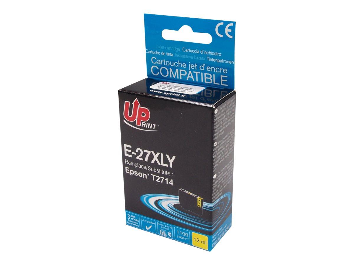 UPrint E - réveil - T27XLY - jaune - cartouche d'encre (équivalent à : Epson T2714)