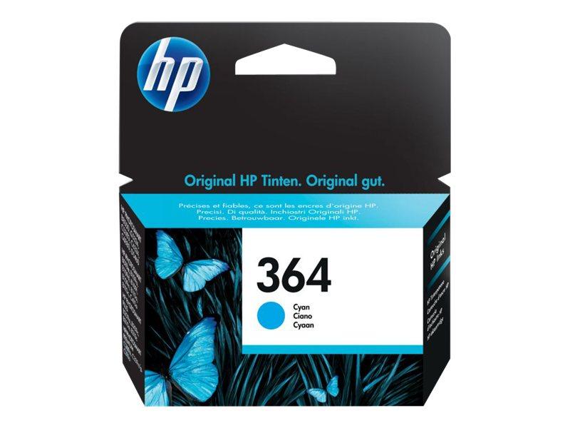HP 364 - cyan - originale - cartouche d'encre