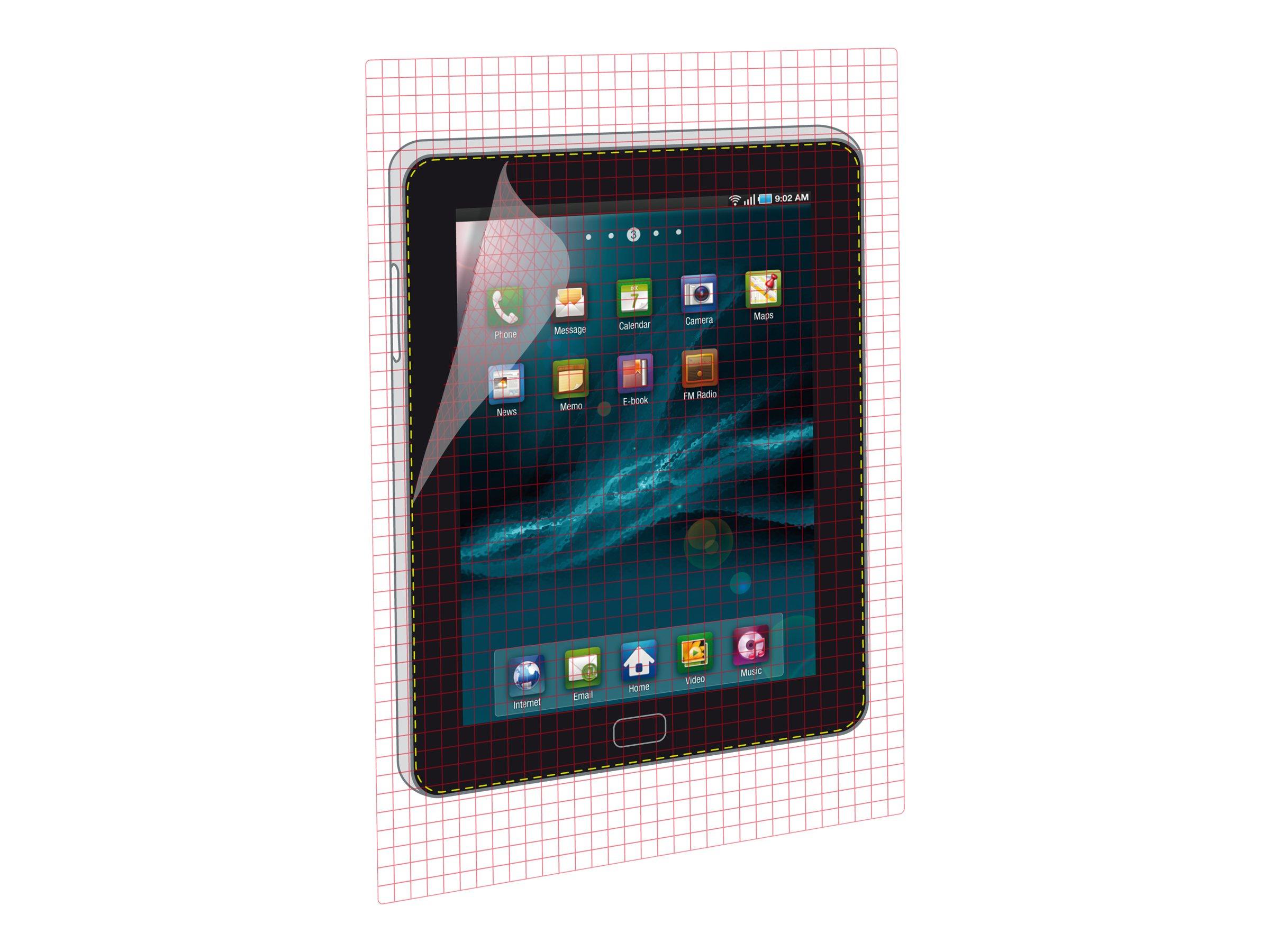 Muvit - 2 films de protection d'écran - universel pour tablette - différentes tailles