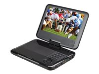 Supersonic SC-179DVD - DVD player - portable - display: 9""