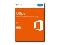 Microsoft Office Home and Business 2016 - ensemble de boîtes