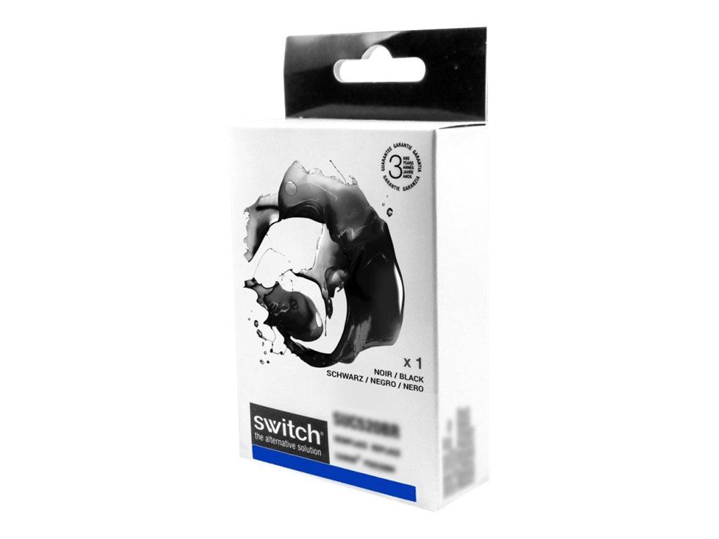SWITCH - renard - noir - remanufacturé - cartouche d'encre (équivalent à : Epson T1281)