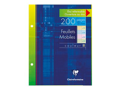 Clairefontaine - A5+ - Copies simples - 17 x 22 - 200 pages - Grands carreaux