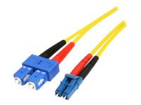 StarTech.com Câble optique SMFIBLCSC1